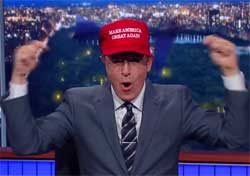 Stephen Colbert spins the GOP CNBC in the toilet debate