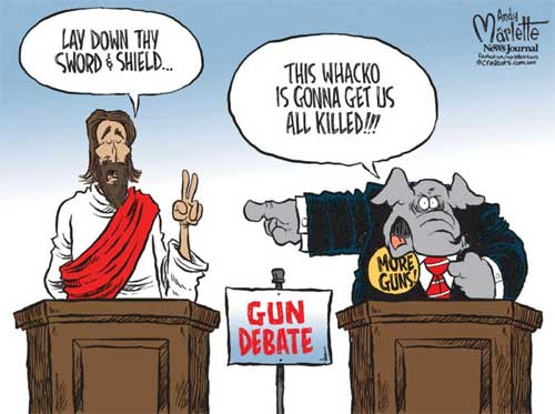 What would the real Jesus say to the Republican Party?