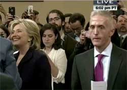 Stephen Colbert Benghazi, Hillary makes fools of Trey Gowdy and Republicans