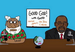 Good God! with God and Special Guest Ben Carson, Funny or Die nsfw