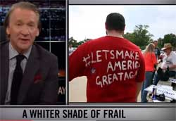 Bill Maher New Rules, You are white, cheer up – November 13, 2015