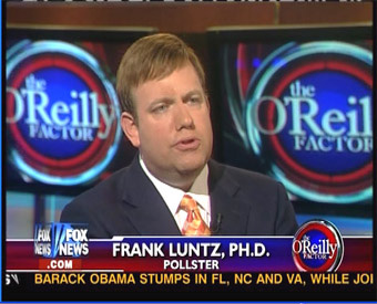 GOP Pollster Frank Luntz defines Trump votes as Working Class Underachievers