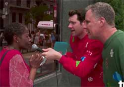 Christmas movies with Will Ferrell and Billy on the Street