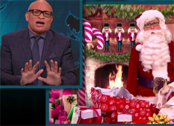 Larry Wilmore, Guns for Christmas as Jesus would want