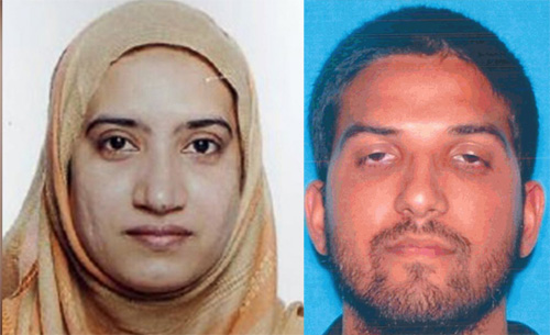 Muslim gun enthusiasts Syed Farook & Tashfeen Malic kill 14 in San Bernardino California