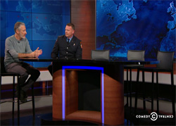 Daily Show Jon Stewart makes an ugly fool of Senator Mitch McConnell
