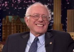Bernie Sanders Looks Forward to Beating Donald Trump - Jimmy Fallon video