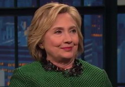 Hillary Clinton on Donald Trump - Late Night with Seth Meyers  - video