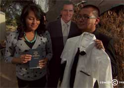 Daily Show Al Madrigal on American Religious Freedom for Christians