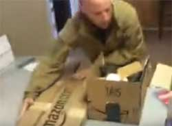 Bundy Militia Jon Ritzheimer with HATEFUL supplies received from Liberals