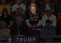 Over there, over there we have the average Trump voter