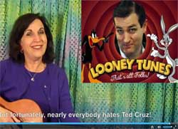 Everyone Hates Ted Cruz, Lauren Mayer music video