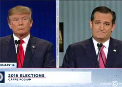 Trevor Noah, Trump makes Cruz look like a dick in GOP debate