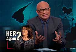 Larry Wilmore calls Sarah Palin a horrible person