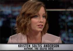 Thom Hartmann makes full of Republican Kristen Soltis Anderson