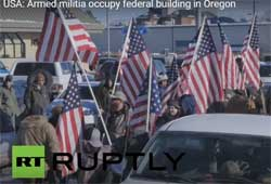 Armed Bundy Jihad moves to Oregon occupies Federal building