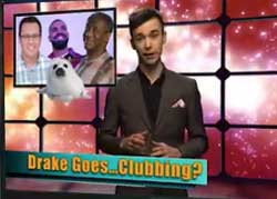 Drake goes clubbing baby seals with  Jared Fogle and Bill Cosby