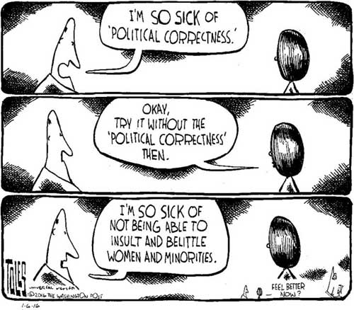 Political correctness defined