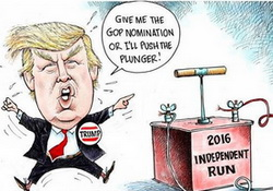 Trumpenfruede - Donald Trump Tramples the GOP - JOY!