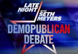 Late Night Demopublican Presidential Debate Moderated by Seth Meyers