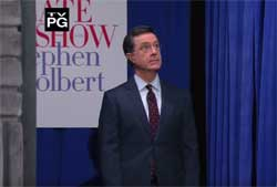 Stephen Colbert does a Ben Carson impression
