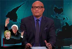 Larry Wilmore, Bernie and Hillary's delegate count after New Hampshire