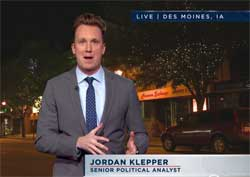 Jordan Klepper spins the Iowa Caucuses, Cruz and Hillary lose