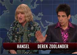 SNL Weekend Update, ZOOLANDER 2, Feb 6 2016