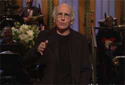 SNL Larry David Monologue, from poor schmuck to rich prick, Feb 6 2016
