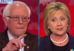 Bernie Sanders and Hillary Clinton's War of Words Debate Madness - Seth Meyers