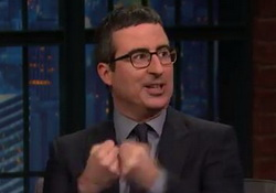 John Oliver Loves the Super Bowl, Beyonce and Bruno Mars, Hilariously Rips Coldplay - Seth Meyers