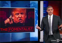 Daily Show, The Donald Trump Fight Club