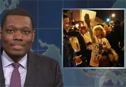 SNL Weekend Update takes down Trump fans, March 12 2016