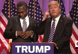 SNL COLD OPEN, Ben Carson endorses Donald Trump, March 12 2016