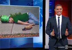 Daily Show, Happy White St Patrick