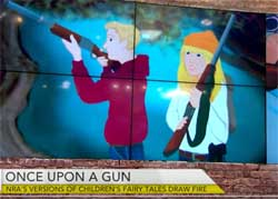 Once Upon a Gun by Amelia Hamilton, NRA Fairy Gun stories for children