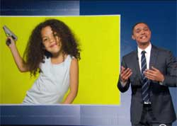 Trevor Noah, Iowa passes law to give guns to toddlers