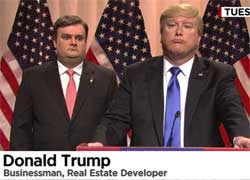 SNL Cold Open, Donald Trump and his Dog Christie, March 5 2016