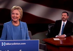 Jimmy Kimmel Mansplains What Hillary Clinton is Doing Wrong In Her Speeches