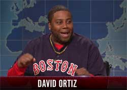 SNL Weekend Update, Opening Day with David Ortiz, April 2 2016