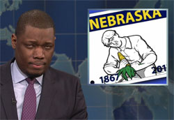 SNL Weekend Update: Nebraska Corn Porn, April 8 2016