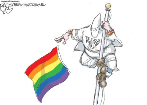 Religious bigotry laws