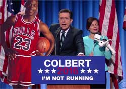 Stephen Colbert picks his VP and Supreme Court choices