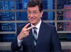 Stephen Colbert does not want to go to the bathroom with anyone