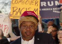 Daily Show Roy Wood Jr does Trump the rapper