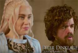 SNL, Sneak Preview of Game of Thrones with Peter Dinklage