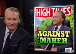 Bill Maher New Rules, GOP should punt because Hillary is going to win, April 8 2016