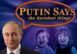 You Will Want to See This Putin Q & A  - John Oliver
