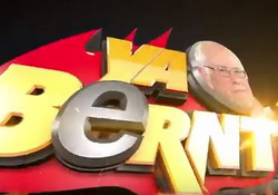 Ya Bernt with Bernie Sanders who hands out hilarious burns to The 1%, Big Banks - Seth Meyers