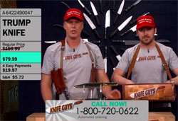 Will Ferrell & Ryan Gosling, the Donald Trump Knife Guys!